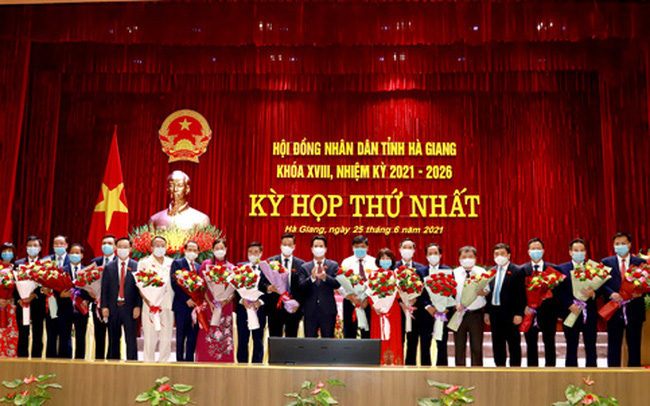 Chủ tịch HĐND, Chủ tịch UBND tỉnh Hà Giang tái đắc cử nhiệm kỳ mới