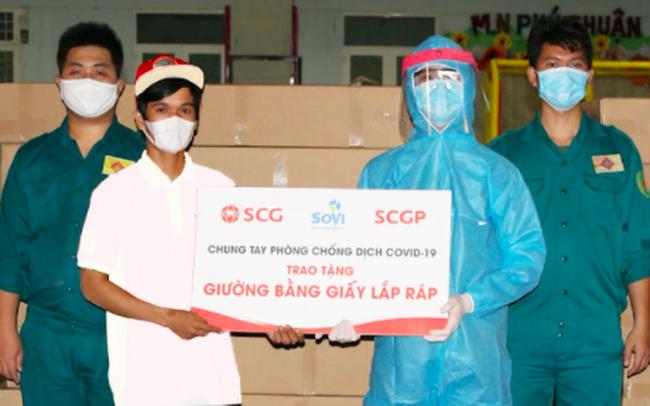 Sáng kiến độc đáo giữa tâm dịch Covid-19: SCGP và Bao bì Biên Hoà hỗ trợ 1.000 chiếc giường giấy cho Mặt trận Tổ quốc Tp.HCM