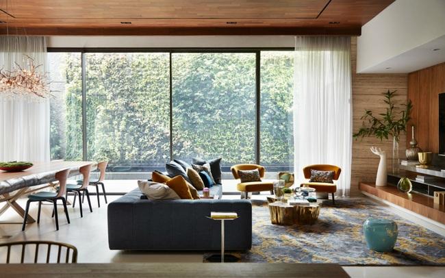 10 ý tưởng phòng khách hiện đại giữa thế kỷ 21, toàn là những xu hướng vượt thời gian nhìn là mê say