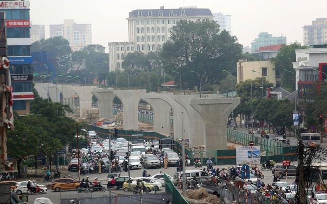 Vingroup đã giải ngân gần 6.500 tỷ đồng vào dự án vành đai 2 cầu Vĩnh Tuy - Ngã Tư Sở trong 2,5 năm