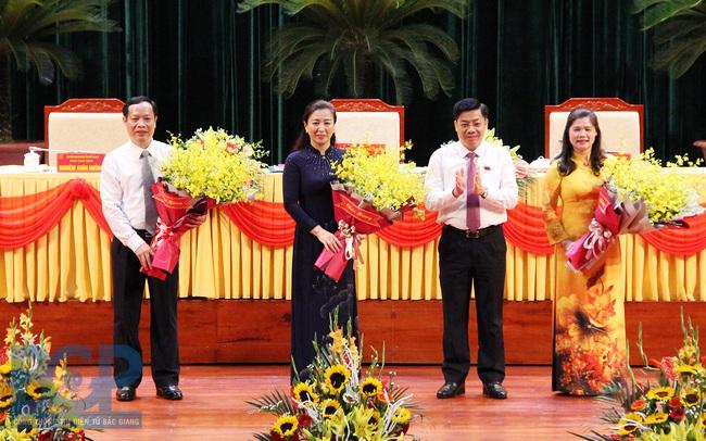 Bà Lê Thị Thu Hồng làm Chủ tịch HĐND tỉnh Bắc Giang