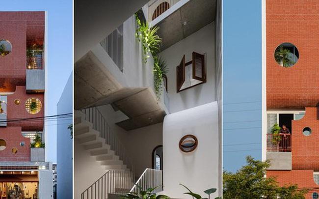 Ngôi nhà ống có kiến trúc độc lạ ở Đà Nẵng được báo nước ngoài rầm rộ đưa tin