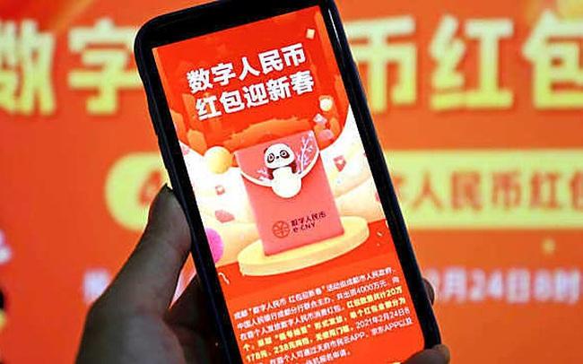 Trung Quốc tặng hơn 6 triệu USD tiền điện tử cho người dân dùng thử