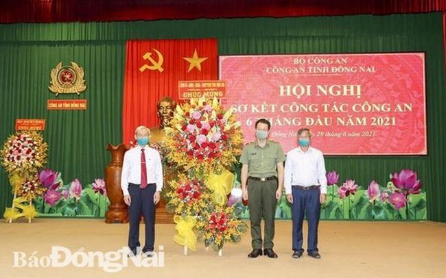 Giám đốc Công an Đồng Nai được thăng hàm Thiếu tướng