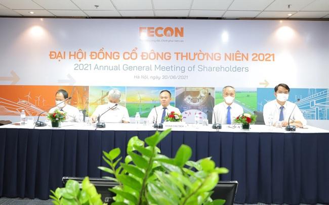 ĐHCĐ Fecon: Tự tin với kế hoạch lãi 175 tỷ đồng, đẩy mạnh phát triển dự án năng lượng tái tạo trong năm 2021