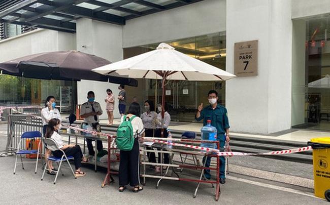 Hà Nội: Dỡ phong tỏa tạm thời tòa Park 7 Times City