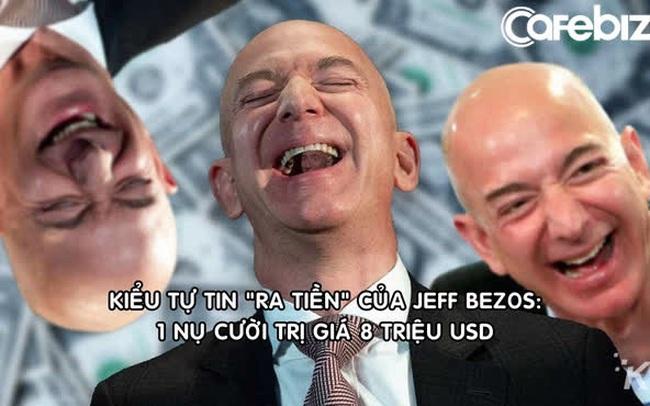 Có 2 kiểu tự tin và Jeff Bezos thuộc kiểu có thể khiến người khác rót 8 triệu USD vào Amazon chỉ bằng 1 nụ cười