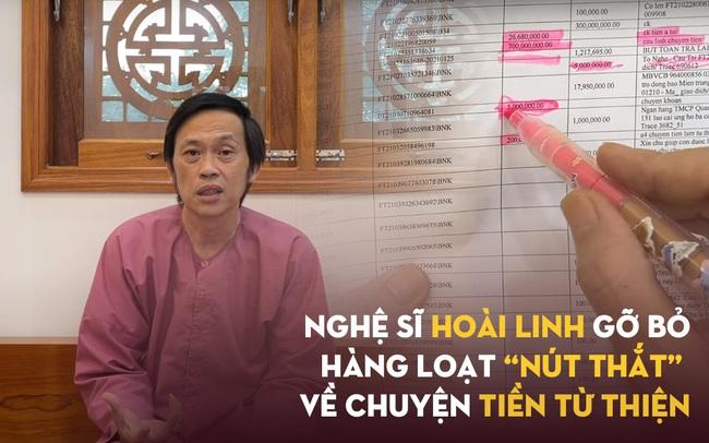 """Hàng loạt """"nút thắt"""", khúc mắc gây bức xúc về khoản tiền cứu trợ miền Trung được Hoài Linh tháo gỡ sau đoạn clip 50 phút: Liệu có đủ thuyết phục?"""