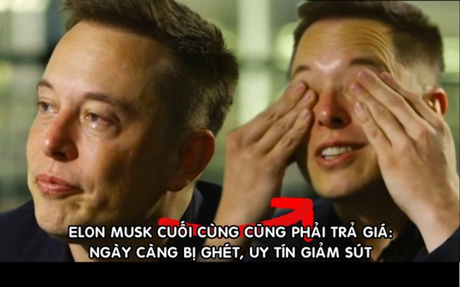 Elon Musk 'trả giá' vì làm giá Bitcoin: Uy tín giảm thấp chưa từng thấy, 'đội quân' antifan ngày càng đông