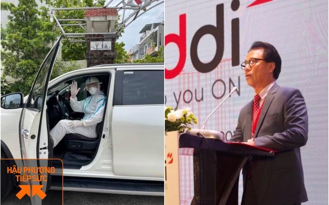 """Đi chi viện trên Bắc Giang, nữ nhân viên y tế may mắn gặp được chú lái xe tốt bụng, hóa ra lại là vị Chủ tịch đình đám đang """"trốn"""" vợ đi tình nguyện"""