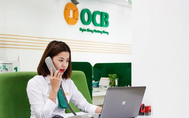 OCB khóa room ngoại ở mức 22%