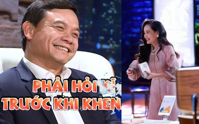 """Sau nhiều lần gây tranh cãi về các nữ CEO xinh đẹp, Shark Phú cân nhắc từng lời: Hỏi rồi mới dám khen, cuối cùng vẫn chốt """"nhìn em là anh thích đầu tư rồi""""!"""