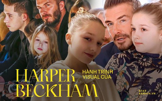 Harper Beckham thay đổi qua 10 năm: Từ bé đã được Tổng biên tập Vogue o bế, đi sự kiện át cả bố mẹ cực phẩm