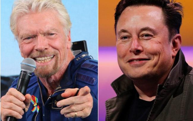 """Elon Musk """"hẹn hò"""" tỷ phú Richard Branson lúc 3h sáng tại phòng bếp"""