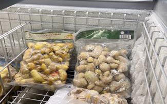 Gừng đông lạnh Việt sang Úc bán hơn 226.000 đồng/kg