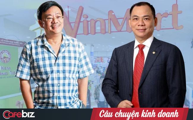 """Mua lại chuỗi siêu thị VinMart từ Vingroup, Masan thành """"ngư ông đắc lợi"""" nhờ Covid: Vốn hóa lập kỷ lục 6 tỷ USD, sắp tung """"át chủ bài"""" cho ván cờ bán lẻ"""