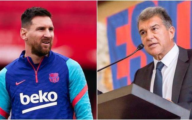 Nóng: Messi đồng ý giảm nửa lương, ở lại Barcelona thêm 5 năm