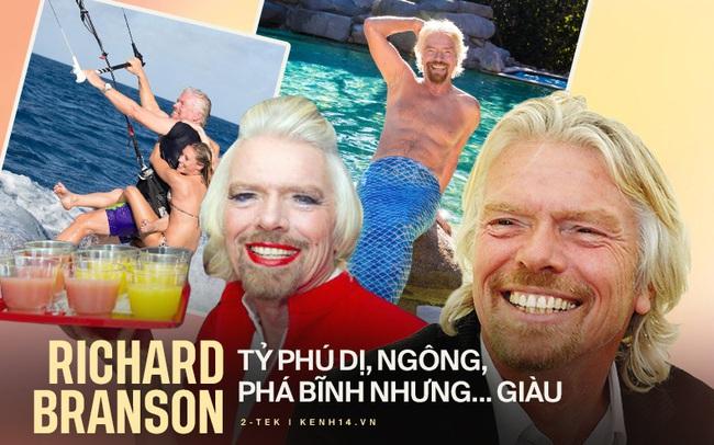 10 sự thật điên rồ về Richard Branson, vị tỷ phú chơi ngông của Virgin Group vừa bay vào vũ trụ trước Jeff Bezos