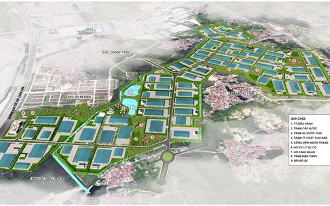 Bắc Giang điều chỉnh quy hoạch chi tiết xây dựng KCN rộng 198ha