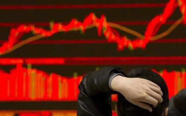 Thị trường đỏ rực, cổ phiếu chứng khoán nằm sàn hàng loạt