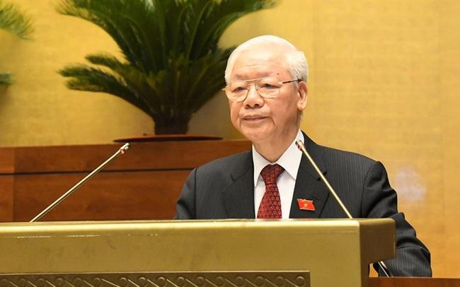 Tổng Bí thư Nguyễn Phú Trọng: Quốc hội khóa XV tiến hành kỳ họp đầu tiên, mở ra một giai đoạn mới đầy triển vọng tốt đẹp