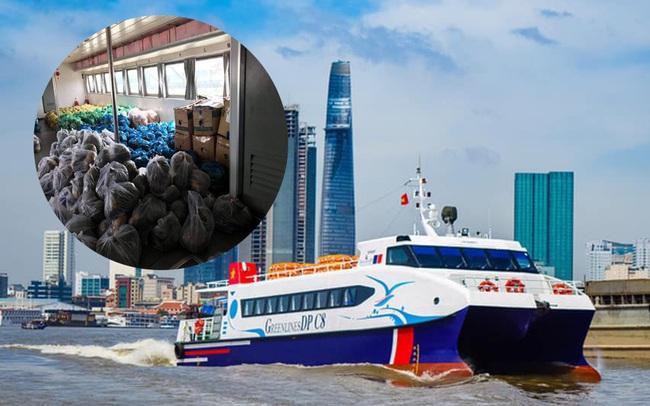 Tàu cao tốc 5 sao tháo hết ghế hành khách để chở thực phẩm, rau xanh cho TP HCM: Bình tâm nhé, dịch sẽ sớm qua thôi!