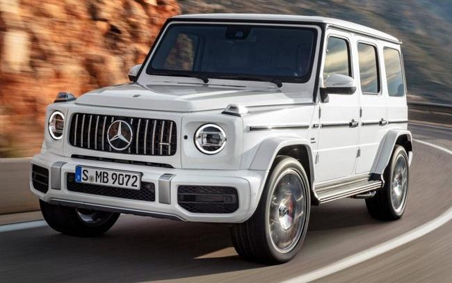 SUV cho giới siêu giàu Mercedes-Benz G-Class bản concept chạy điện ra mắt tháng 9
