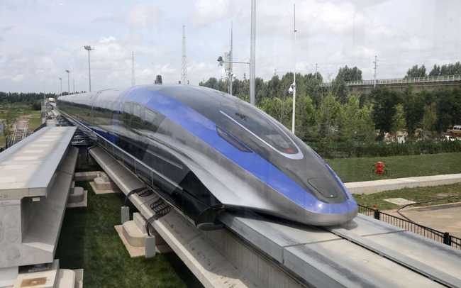 Trung Quốc ra mắt hệ thống tàu đệm từ tốc độ 600 km/h – thành phương tiện trên mặt đất nhanh nhất thế giới