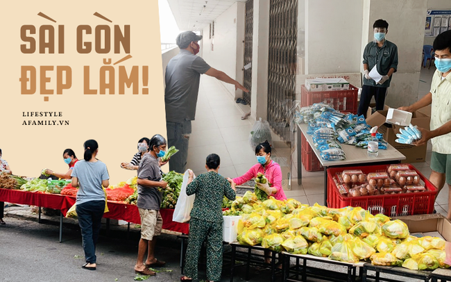 """Chưa từng có tiền lệ: Cư dân Sài Gòn tiếp nhau từng mớ rau, nắm ớt, sẵn sàng chi viện cho cả đồng nghiệp mà ngày thường vốn """"chẳng ưa"""""""