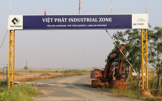 2 công ty phát hành 7.000 tỷ trái phiếu rót vào khu công nghiệp Việt Phát tại Long An