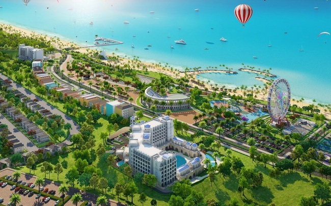 1 công ty phát hành 2.500 tỷ trái phiếu để mua sỉ 130 biệt thự nghỉ dưỡng NovaWorld Phan Thiết