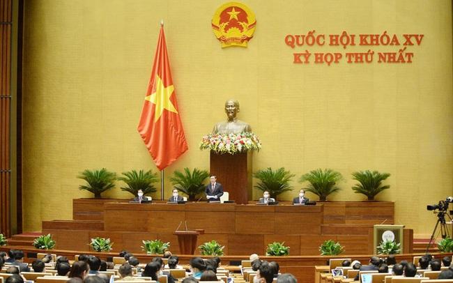 100% số ĐBQH có mặt tán thành Nghị quyết về cơ cấu số lượng thành viên Chính phủ khóa mới