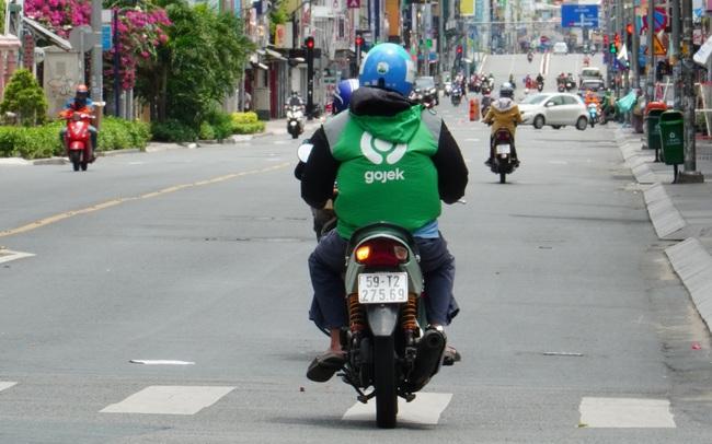 Gojek công bố không tăng giá cước giao hàng tại TP.HCM