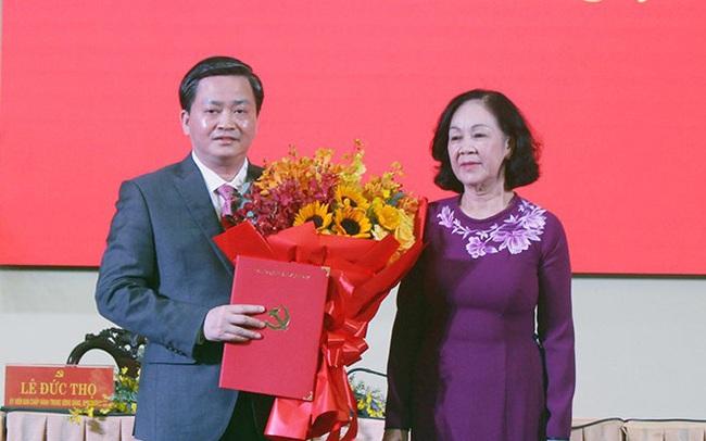 Ông Lê Đức Thọ thôi làm chủ tịch VietinBank, về làm Bí thư Tỉnh uỷ Bến Tre