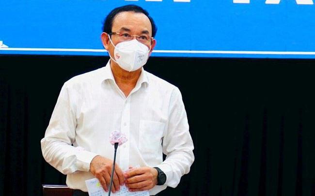 Bí thư Nguyễn Văn Nên nêu lý do không giãn cách theo Chỉ thị 16 toàn TPHCM