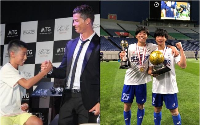 Chỉ bằng 1 lời nói chân thành, Cristiano Ronaldo đã thay đổi số phận của cậu bé Nhật Bản từng bị đám đông chế giễu: Đẳng cấp thực thụ của một ngôi sao lớn!