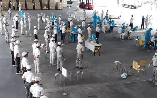 Tạm dừng hoạt động Công ty TNHH Nidec Sankyo để phòng chống dịch Covid-19