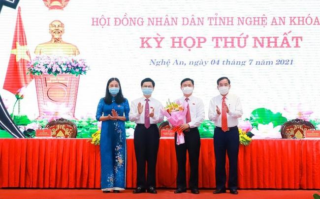 Bí thư Tỉnh ủy Nghệ An Thái Thanh Quý được bầu làm Chủ tịch HĐND tỉnh