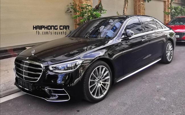 Mercedes-Benz S 500 2021 màu đen bất ngờ lăn bánh tại Hải Phòng: Chiếc thứ hai của đại gia Việt, giá tham khảo gần 10 tỷ đồng