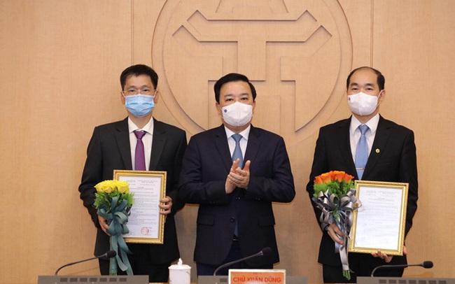 Hà Nội có 2 tân Phó Giám đốc Sở Y tế
