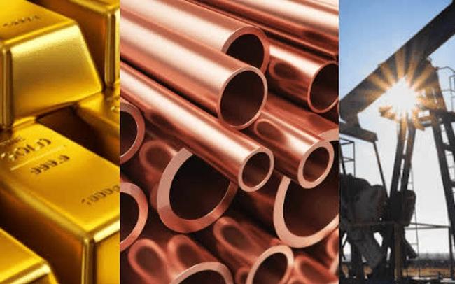 """Thị trường ngày 7/7: Giá dầu và đồng """"quay đầu"""" giảm mạnh, sắt thép tăng, vàng tiến sát 1.800 USD"""