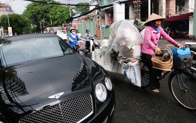 Chênh lệch giàu nghèo ở tỉnh, thành nào lớn nhất?