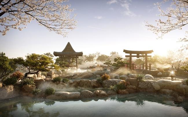 3 tập đoàn huyền thoại Nhật Bản triển khai tổ hợp căn hộ Onsen tại Ecopark