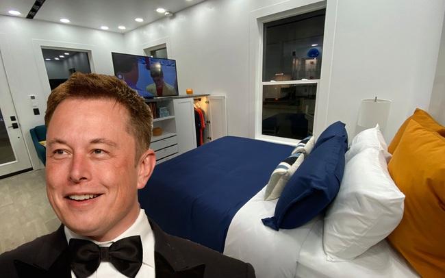 """Vén màn bí mật bên trong nhà đi thuê """"tí hon"""" vỏn vẹn 36m2 của Elon Musk: 1 chi tiết cực """"gắt"""" nhưng tỷ phú bảo """"trên cả tuyệt vời"""""""