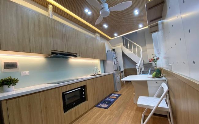 Hà Nội: Nhà ống 16m² vẫn tiện nghi bất ngờ nhờ bí mật trong giải pháp cải tạo của kiến trúc sư