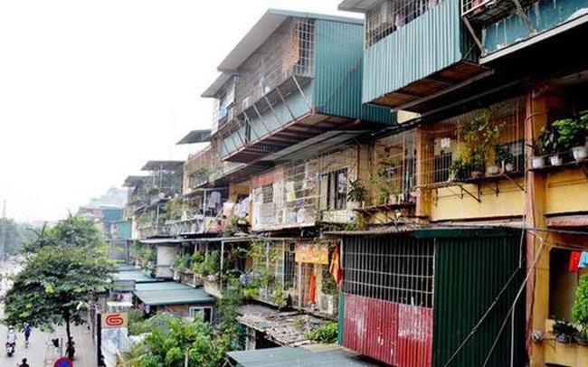 Chủ tịch Hà Nội ủy quyền các quận, huyện ứng trước kinh phí cải tạo chung cư