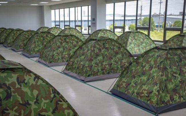 Samsung, đối tác của Apple cho công nhân Việt Nam ngủ tại nhà máy để phòng tránh Covid