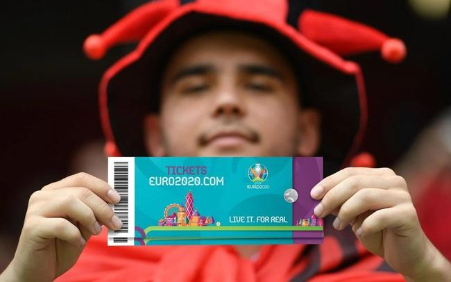 """""""Cò vé"""" Việt Nam đã là gì, vé xem chung kết Euro 2020 đang bị """"hét"""" từ 2,6 triệu lên 400-600 triệu kia kìa"""