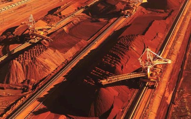 Giá quặng sắt giảm hơn 7% xuống thấp nhất 6,5 tháng