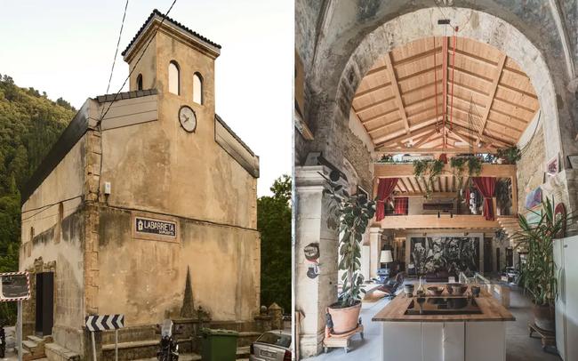 """Góc lột xác: Nhà thờ bị bỏ hoang từ thế kỷ 16 đã được cải tạo thành ngôi nhà """"cá tính"""" đến bất ngờ, sự độc đáo khiến ai cũng say lòng"""